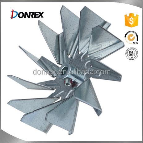 OEM service iron and stainless steel blower impeller