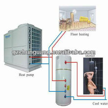 heat pump water water buffer tank