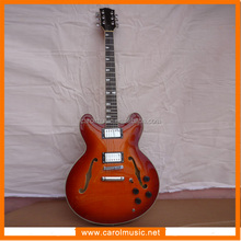 EHG008 Wholesale China Imported Hollow Body Electric Guitar