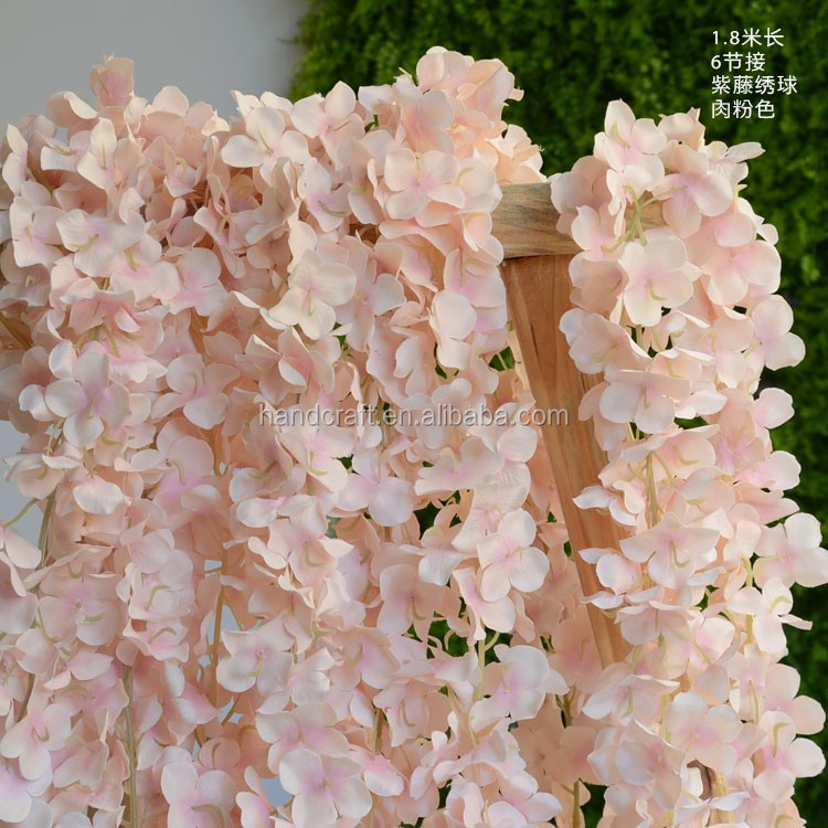 white hanging artificial wisteria flower artificial flowers for wedding decorations artificial wisteria
