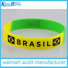 New fashion design customized silicone bracelet, cheap silicone wristbands,rubber bracelet for events