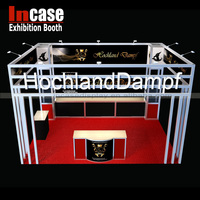 Incase exhibition booth contractor provide trade show booth design service