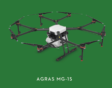 DJI AGRAS MG-1S Agricultural Aircraft/Drone with A3 Flight Controller and Radar Sensing And Spraying System