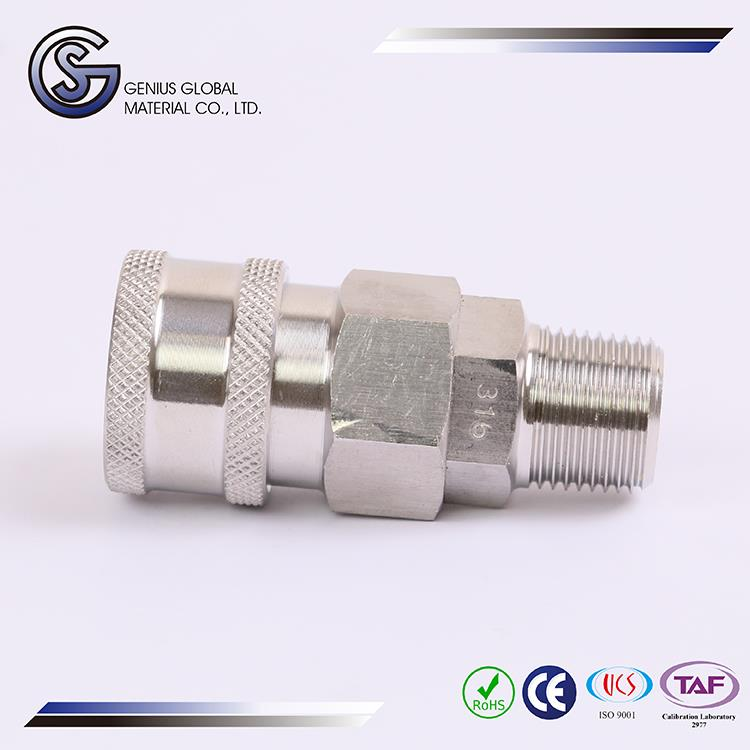 2017 custom logo flared tube fittings with wholesale price in Alibaba