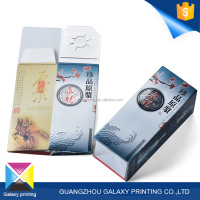 Wholesale China printing factory custom cheap gloss lamination single bottle wine paper box