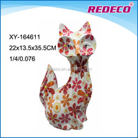 Large resin fox shaped animal statues for sale