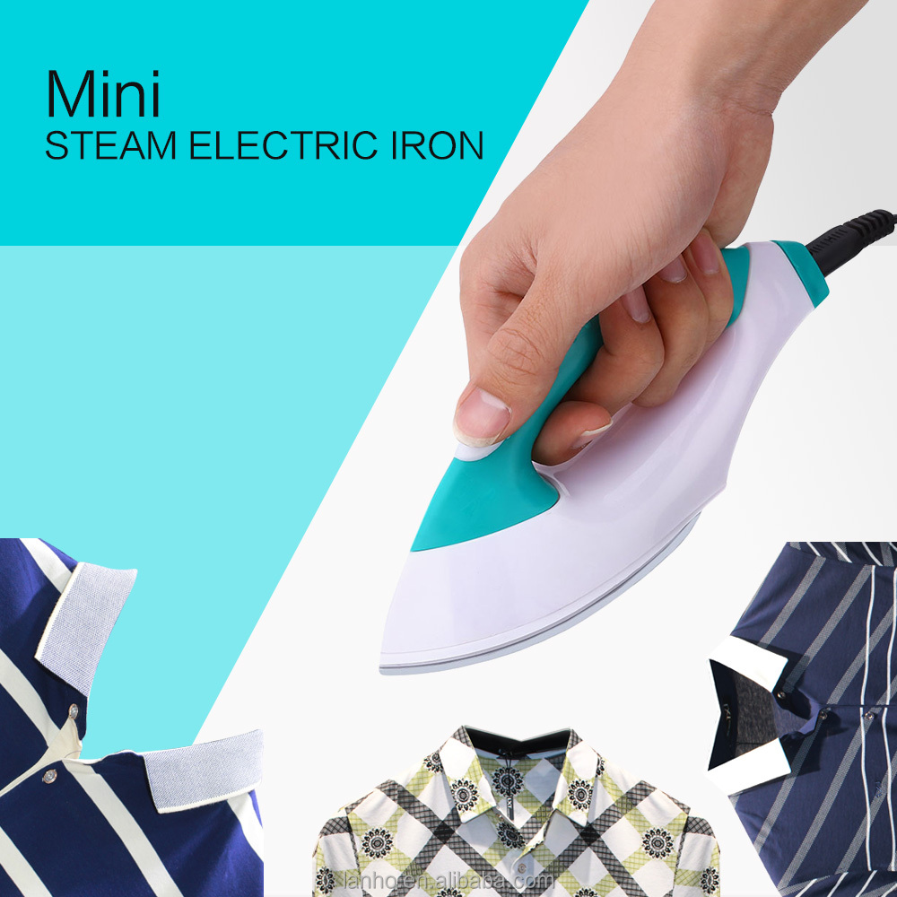 Portable Electric Iron Mini Exquisite Design Household Handheld Garment Electric Iron with Special Static Dust-proof Steam Irons