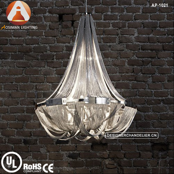 Soscik Suspension Light/ Silver Chain Chandelier