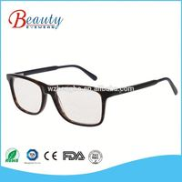 Fashionable speticals half rim eyeglasses frame for optic glasses