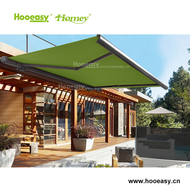 Homey high quality new style retractable full cassette awnings