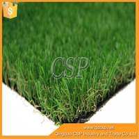 4 green colors Cheap Outdoor Garden plastic grass carpet for outdoor playground