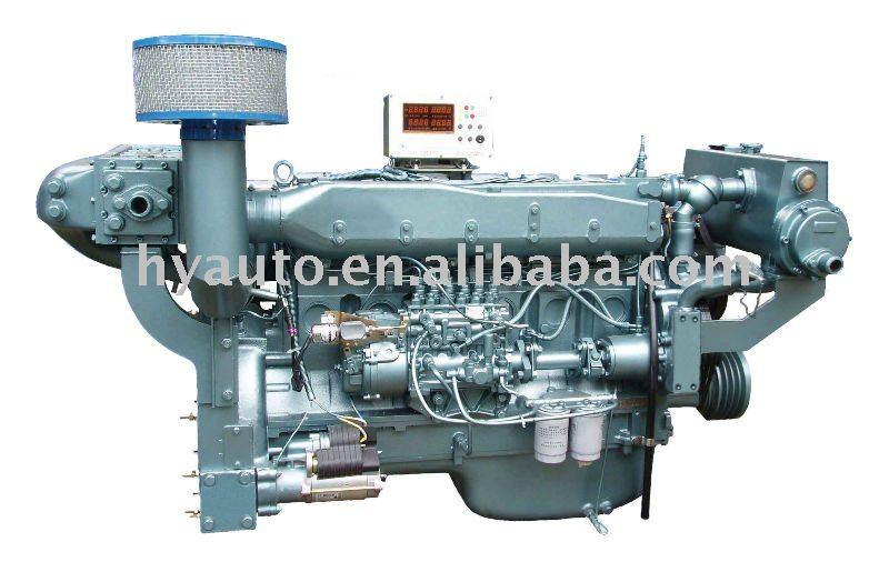 SINOTRUK(CNHTC) STEYR WD615 series diesel marine engine, boat engine, ship engine