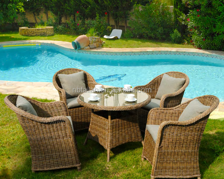 2016 best selling resin outdoor rattan furniture garden dining set wicker dining set rattan dining set
