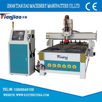 wood cnc router with automatic tool change spindle