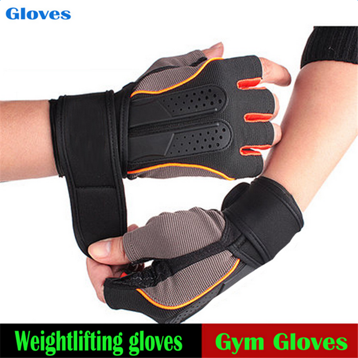 YOUME Tactical Sports Fitness <strong>Weight</strong> Lifting Gym Gloves Training Fitness bodybuilding Workout Wrist Wrap Exercise Glove for Men