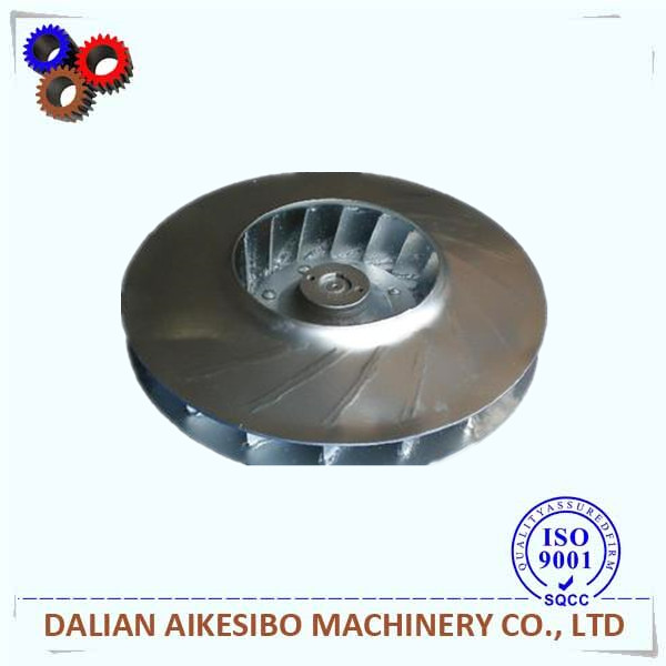 manufacturer customized centrifugal air blower parts