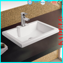 Ceramic Wash Basin Sink Parts for Bathroom Vanity