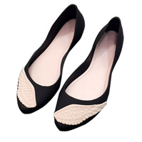 Beautiful Design Best Sale China Women Shoes Cheap Fashion Flat Shoes 2018 New Style Ladies Jelly Sandals