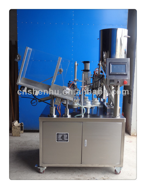 Automatic Soft Tube Sealing and Filling Machine