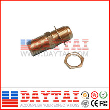 Long Type F Female Adapter to F Female Adapter with Nut and Washers