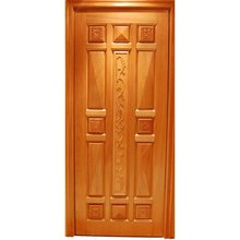 Carving design solid wood door bedroom door