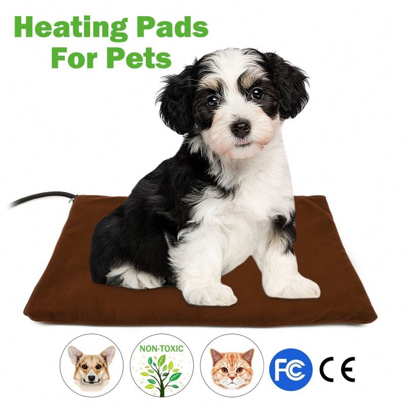 Long life span washable chew resistant healthy waterproof pet heating pad with CE ROHS
