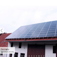 high efficiency and easy install 8kw solar panels price per watt