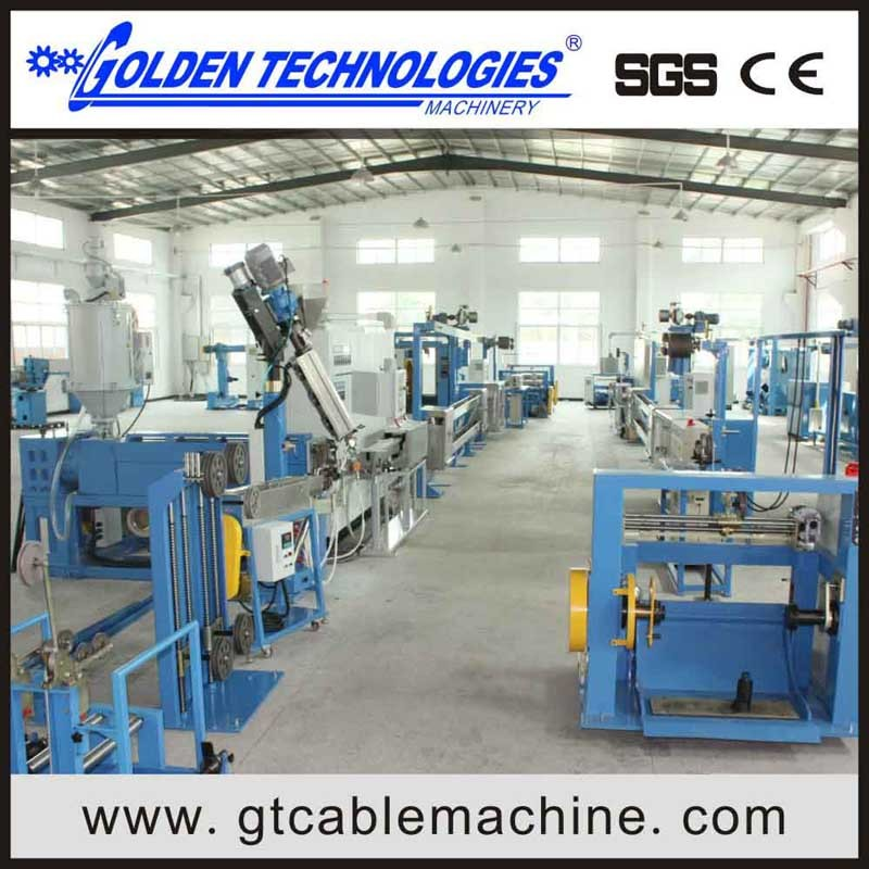 LAN cable Insulation extrusion machine