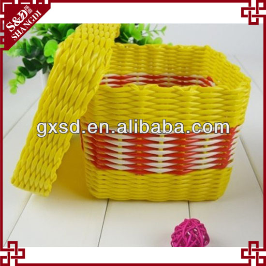 S&D handicraft rattan gift hamper boxes