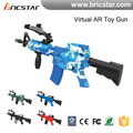 Really sense shooting bluetooth ar-gun, virtual reality ar gun plastic with game App