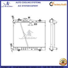 OEM 16400-54A00 16400-54A01 2001- for Toyota HiAce 3.0D Radiator