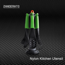 low price utensils mixing tools kitchen utensil set with holder and hanging measuring