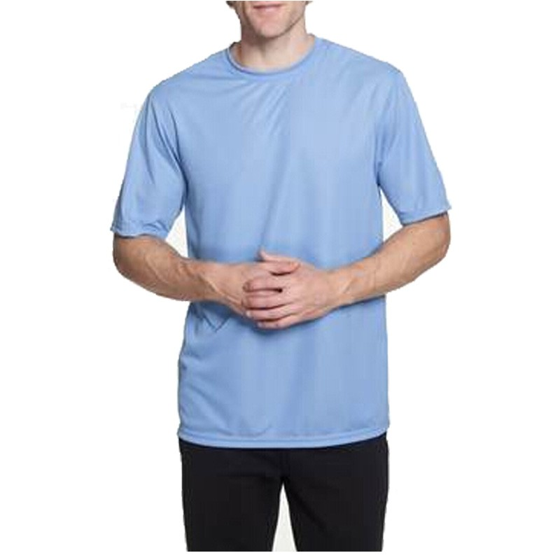 100% high performance dri fit polyester jersey tshirt