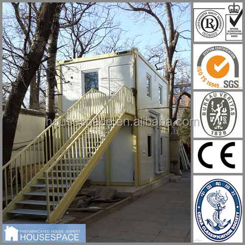 High Quality luxury eco friendly prefabricated container house