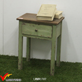 Distressed Handmade Pine Wooden Small Side Table