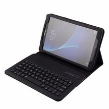 PU Leather Detachable Bluetooth Keyboard Stand Case Cover for Samsung Galaxy Tab A 10.1 Tablet