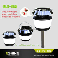 solar panel high voltage outdoor weather-proof practical outdoor solar mosquito repellent light