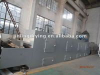 Hot sale Pigment belt dryer / pigment drying process line/Fruit drying equipment