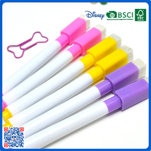 thick white board marker refillable whiteboard highlighter non-toxic skin marker with brush