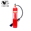 New Fashion Design for 5kg Alloy Steel Co2 Fire Extinguisher Convex Type