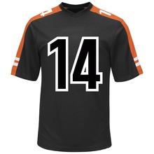 Sublimated twill numbers american shirt,latest football jersey designs