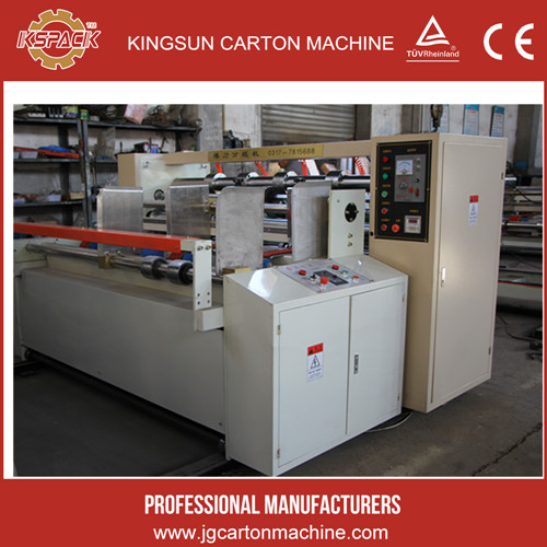 BFY paperboard thin blade slitter/Corrugated Cardboard Thin Blade Slitter Scorer/Carton box manufacturing machine