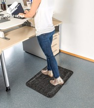 Office active stain resistant spike elastic bubble floor mat
