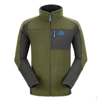 100% Polyester Wholesale Cheap Micro Man Fleece Jacket