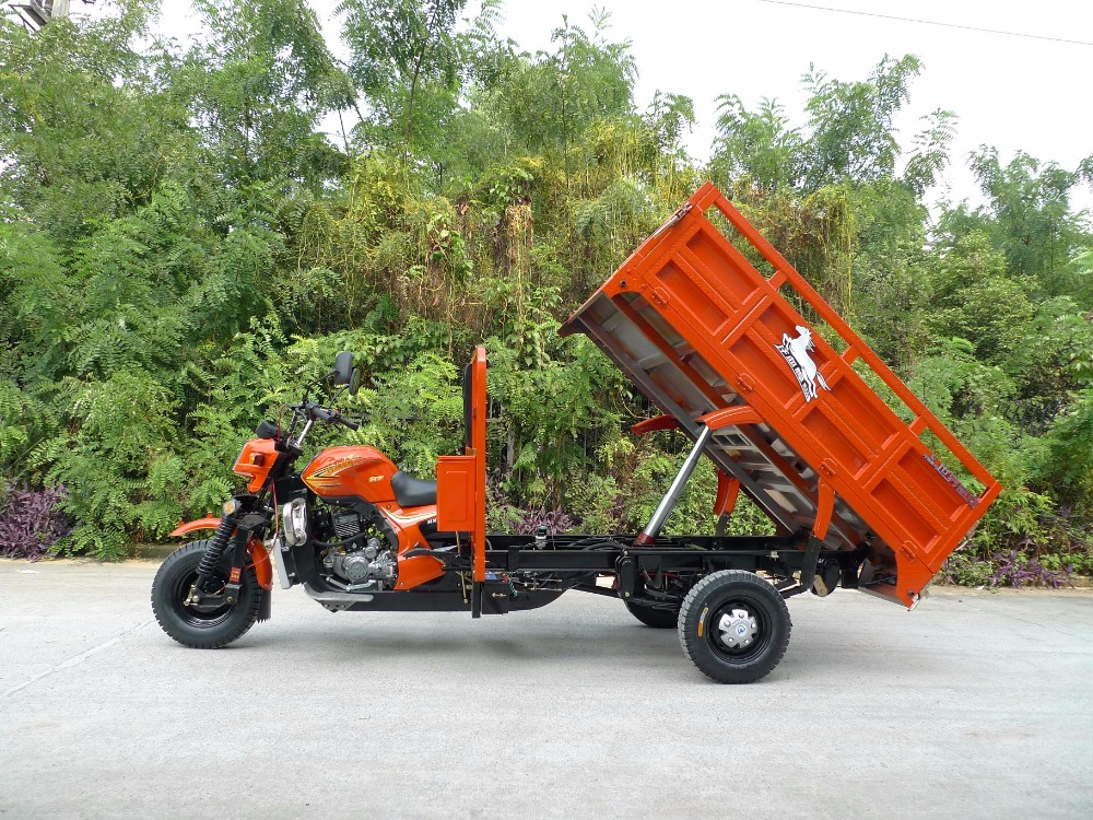 pedal front loading truck cargo tricycle