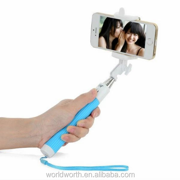 New 2015 for iphone accessory handheld monopod selfie stick bluetooth monopod mobile phone selfie stick monopod for iphone CL-96