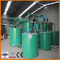 No pollution Car/truck/ship motor oil re-refining into base oil ! China ZSA waste oil cleaning machine