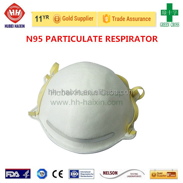 Certified Dust Mask Respirator with Exhalation Valve