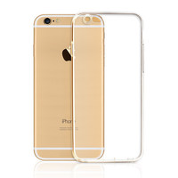 ultra thin crystal transparent tpu 0.3mm case for iphone 6/6s, for iphone 6 tpu case, for iphone 6 cover case smartphone