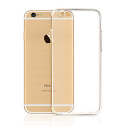 ultra thin crystal transparent tpu 0.3mm case for iphone 6, for iphone 6 tpu case, for iphone 6 cover case smartphone